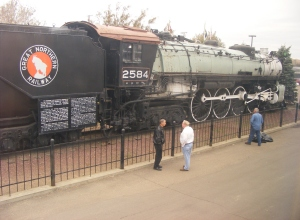 Steam Locomotive 2584